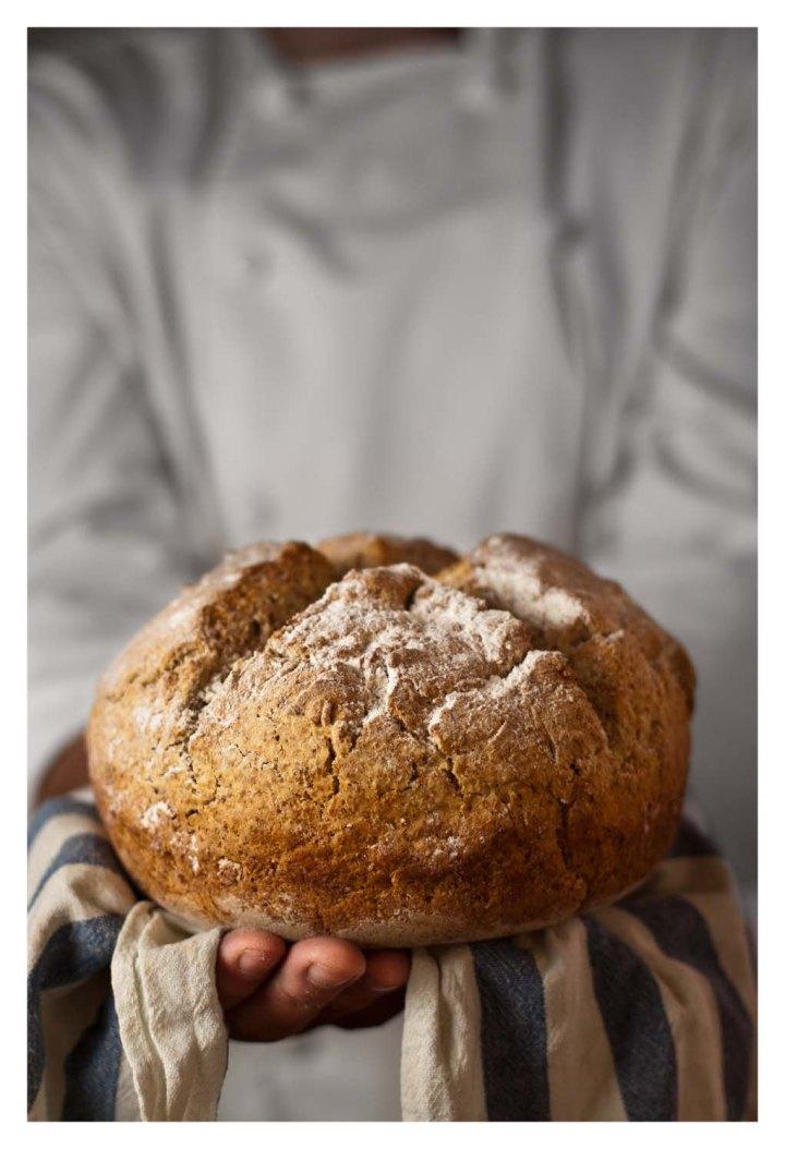 IRISH SODA BREAD: pan de bicarbonatoirlandés