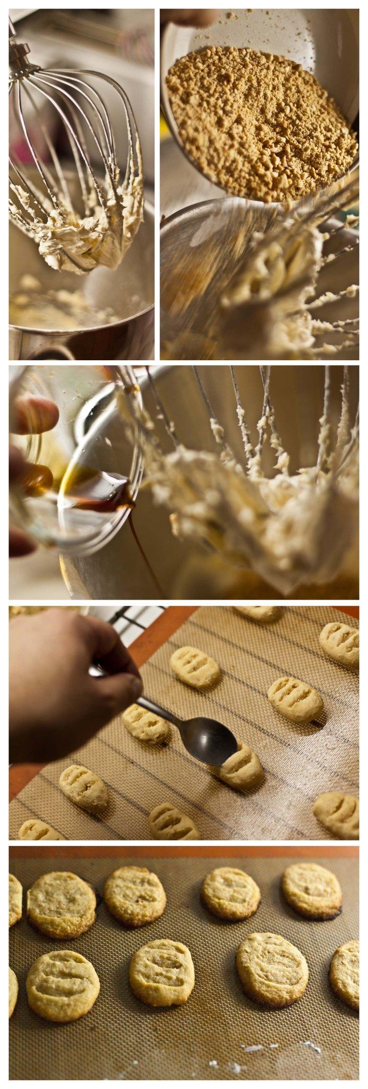 Elaboración galletas de almendra
