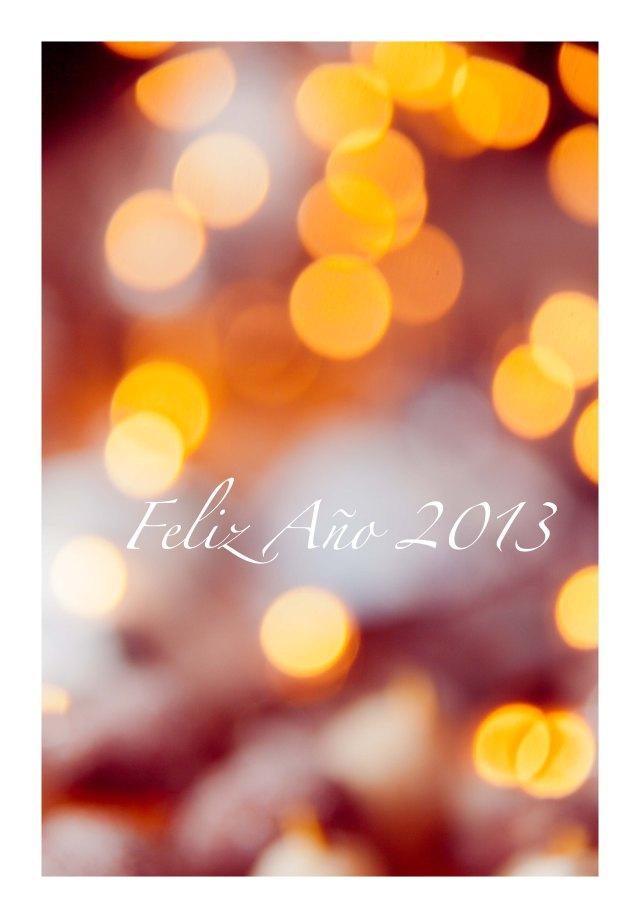 FELIZ AÑO 2013