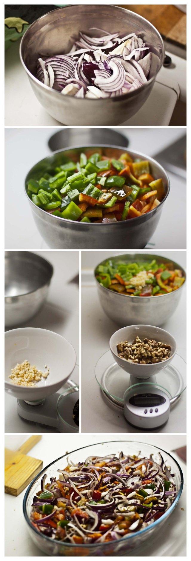 Elaboración de los vegetales