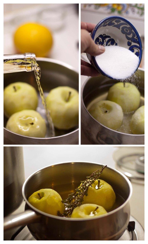 Elaboracion de manzanas