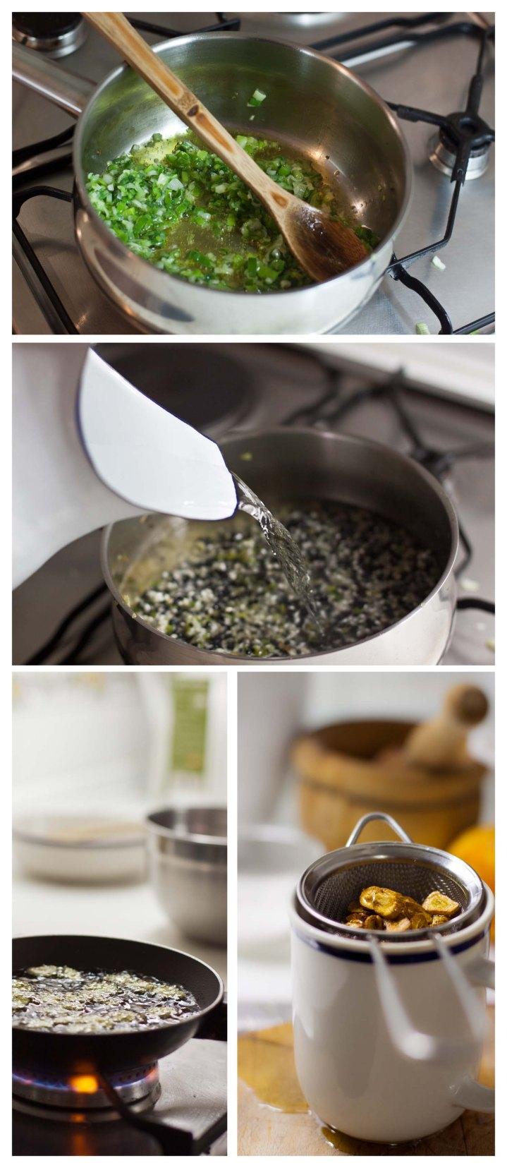 añadir las lentejas, el arroz y el resto de ingredientes