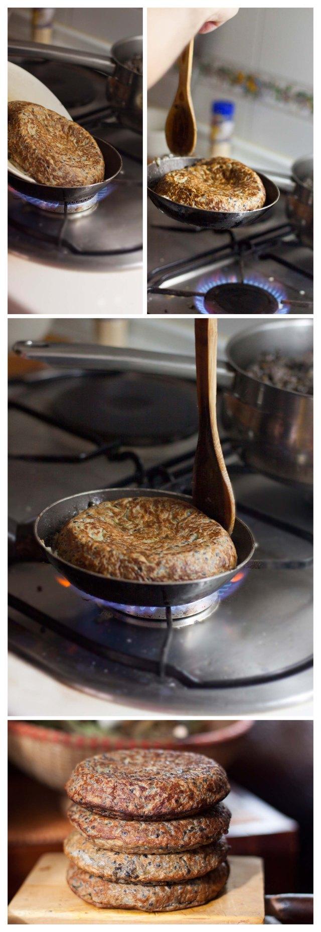 Terminando la tortilla