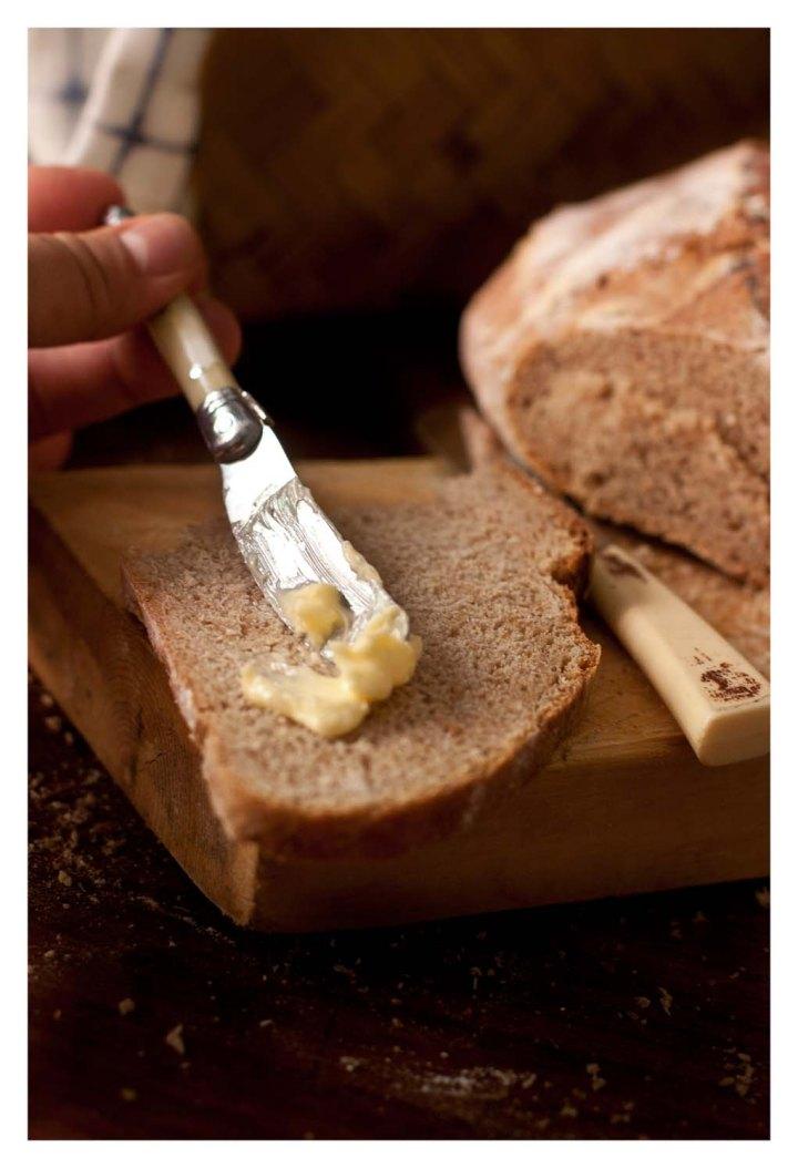 Un poco de mantequilla