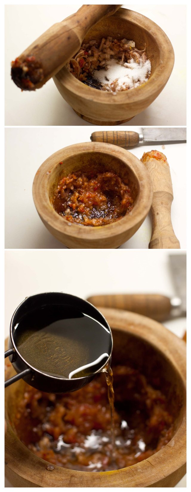 Elaboracion de la salsa