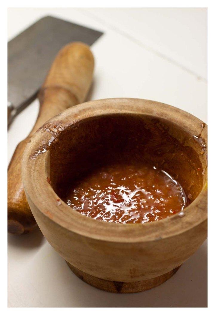 salsa de picante de vinagre