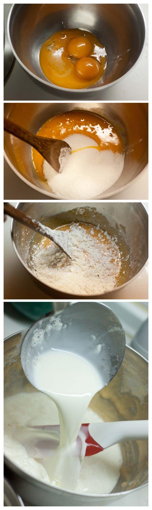 Elaboracion de la crema pastelera