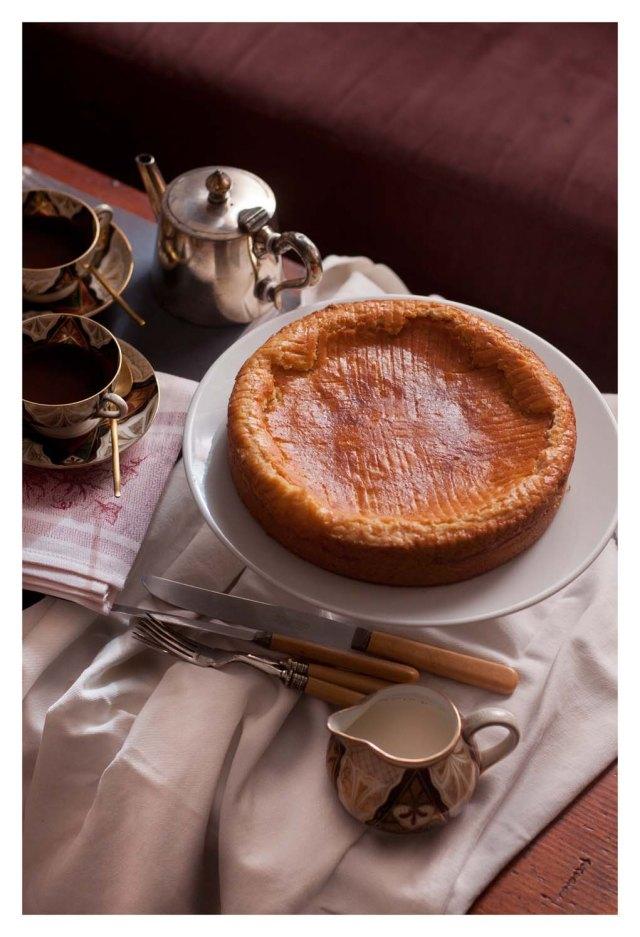 Gâteau Basque à la crême
