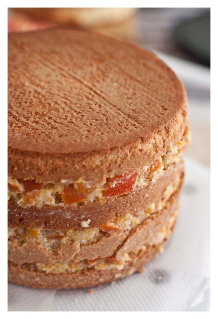 Montaje de la tarta 2
