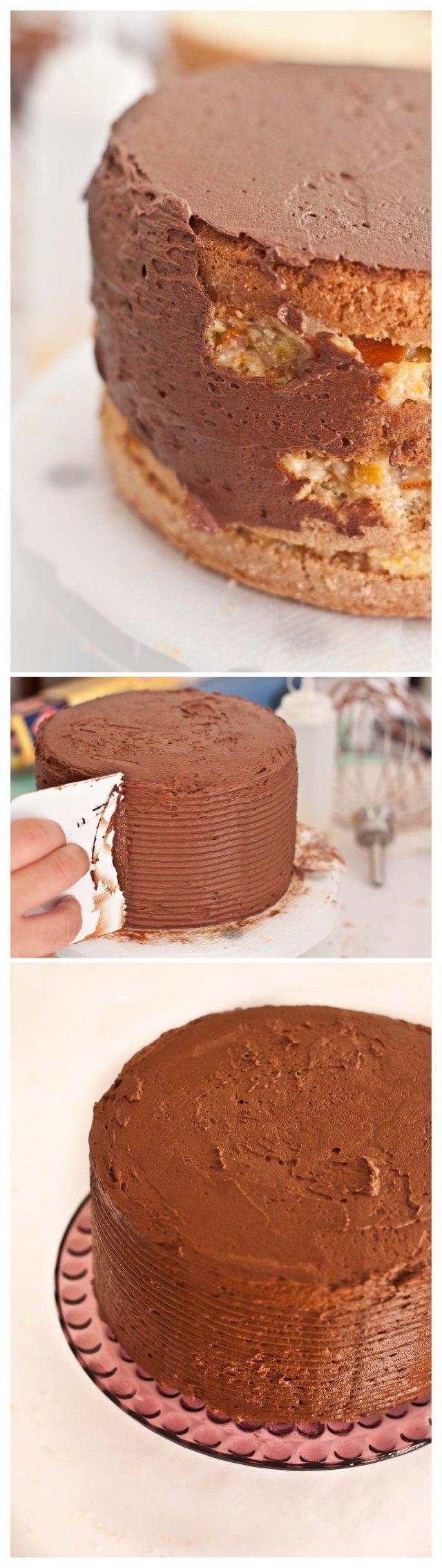 Montaje de la tarta 3