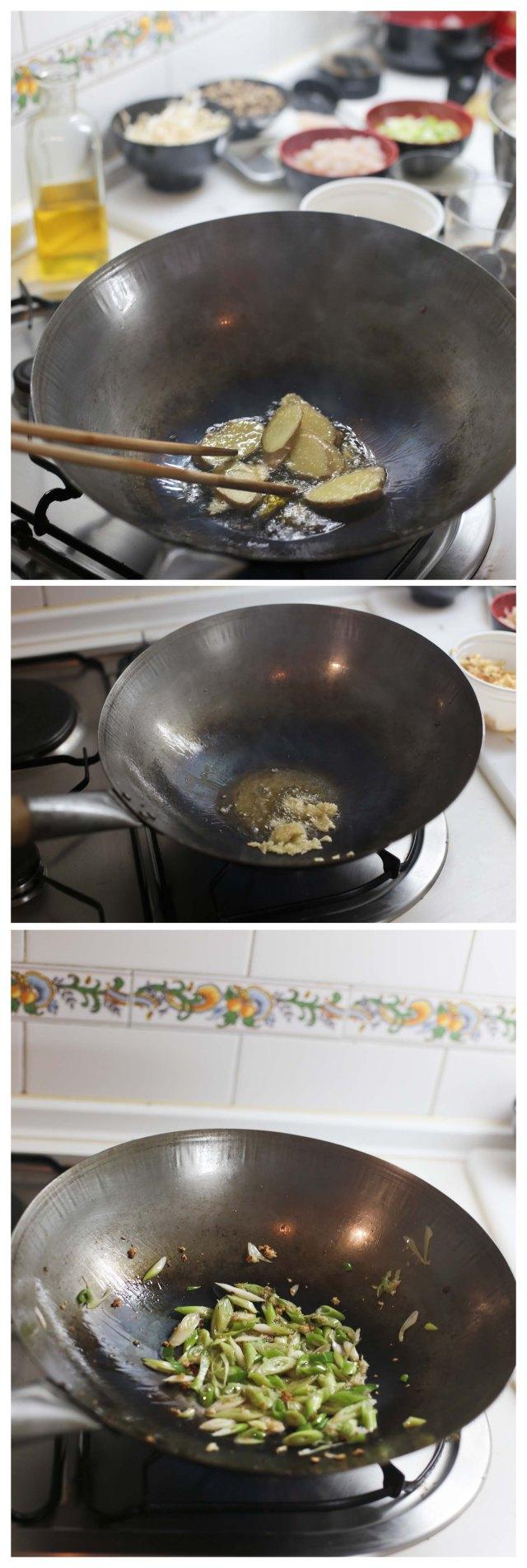 segunda parte de la receta
