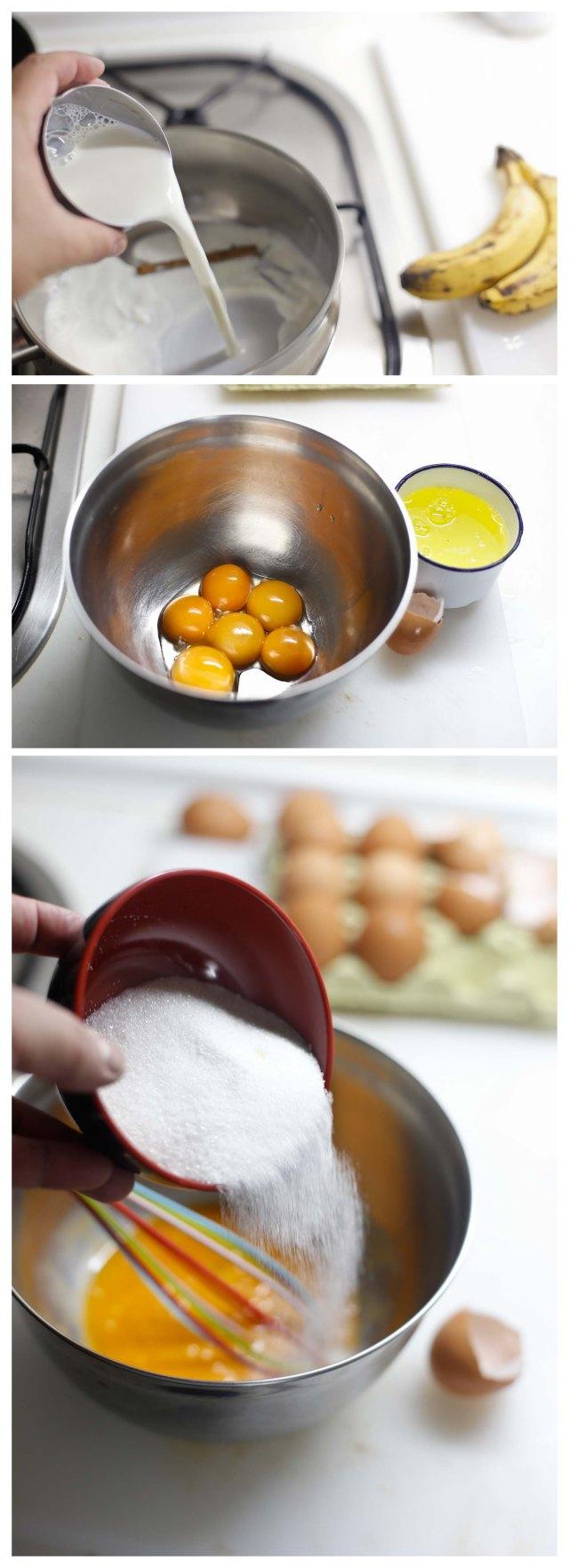 Elaboracion de crema inglesa