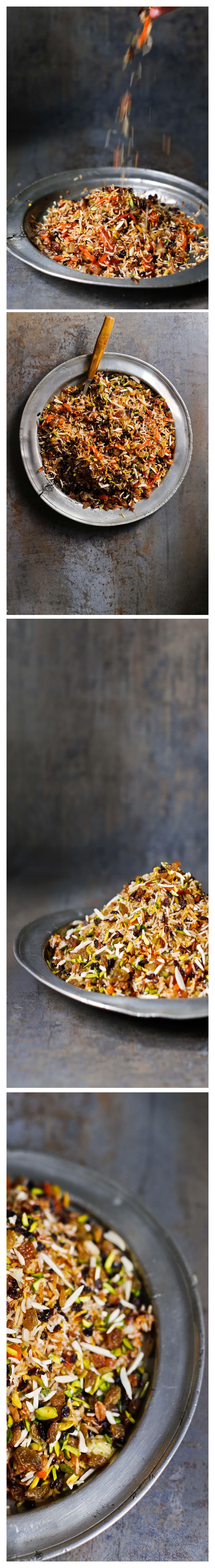 JAVAHER POLOW: arroz persa enjoyado – El Oso con Botas
