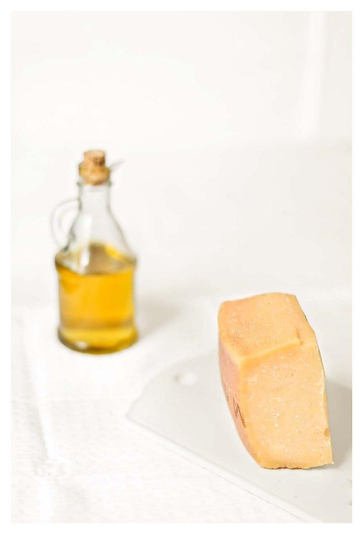 queso y aceite