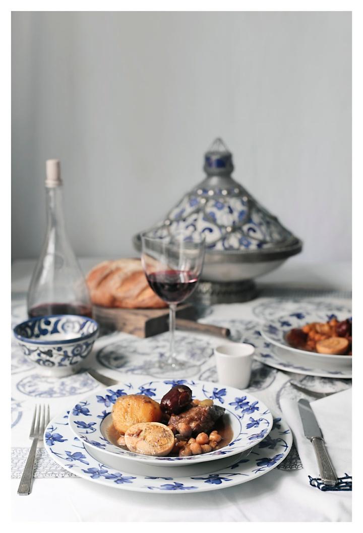 SKHINA: un guisojudío-marroquí