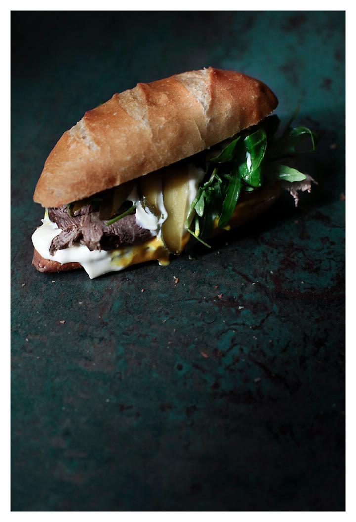 Bành mì sandwich 2