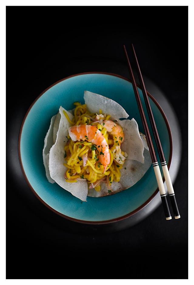 Ensalada vietnamita de mango 1
