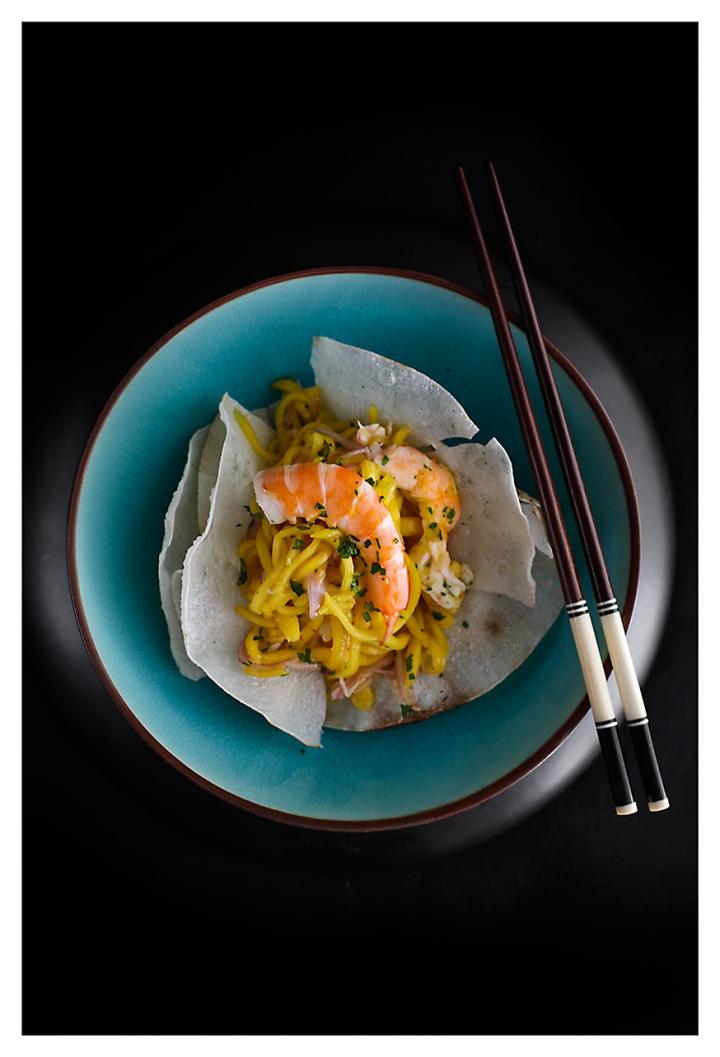 Cocina como excusa II de Nando Müller y una ensalada vietnamita demango