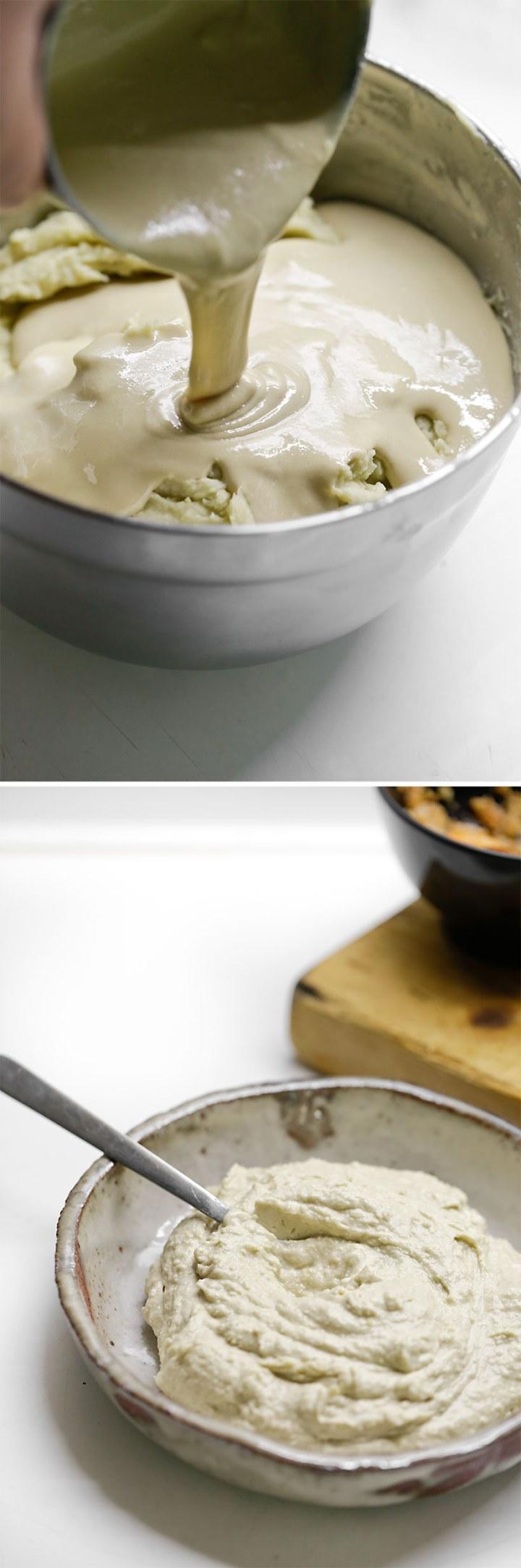 Receta de puré de verdinas con langostinos i