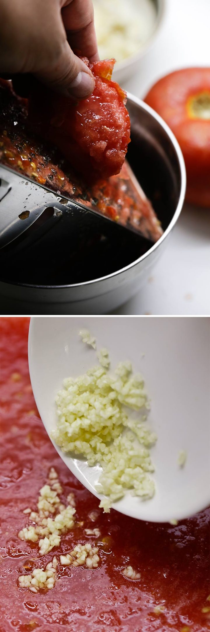 Receta de capellán con tomate 10