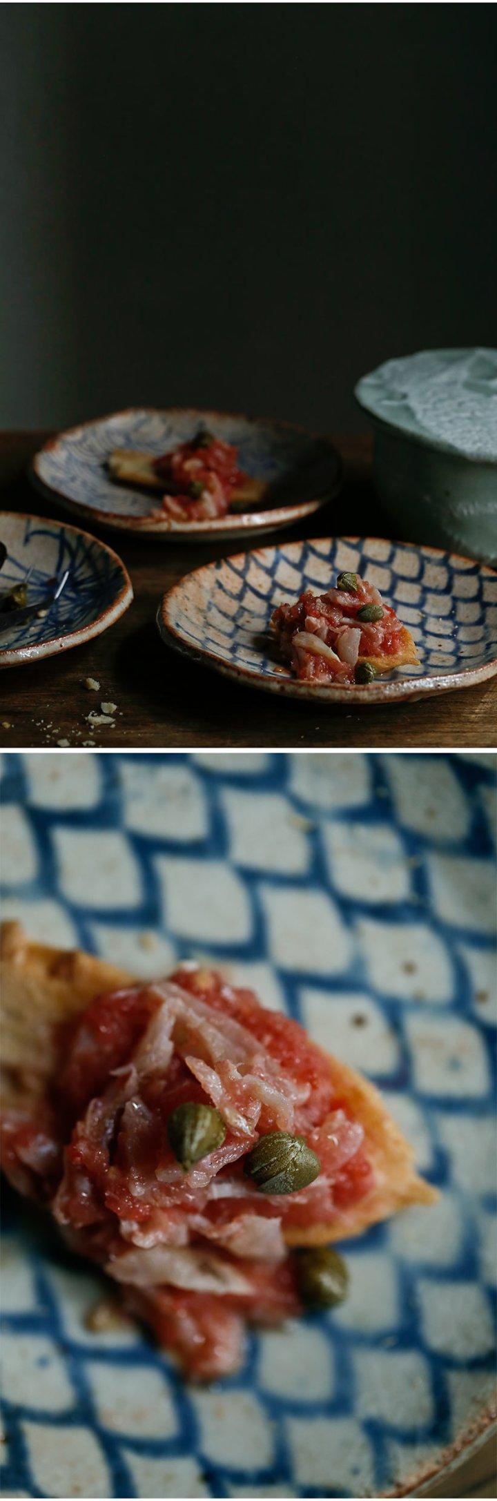 Receta de capellán con tomate 4