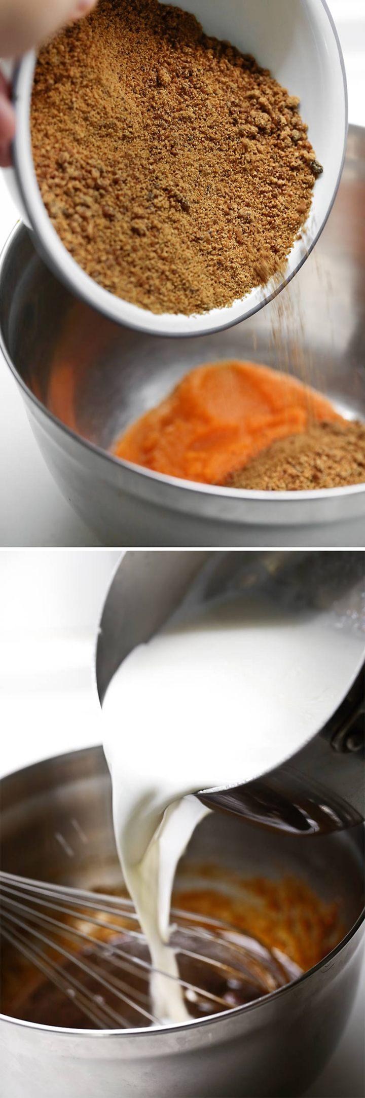 Receta helado de masacrado y calabaza 1
