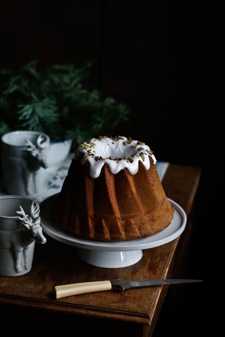 Bundt cake con aceite denuez