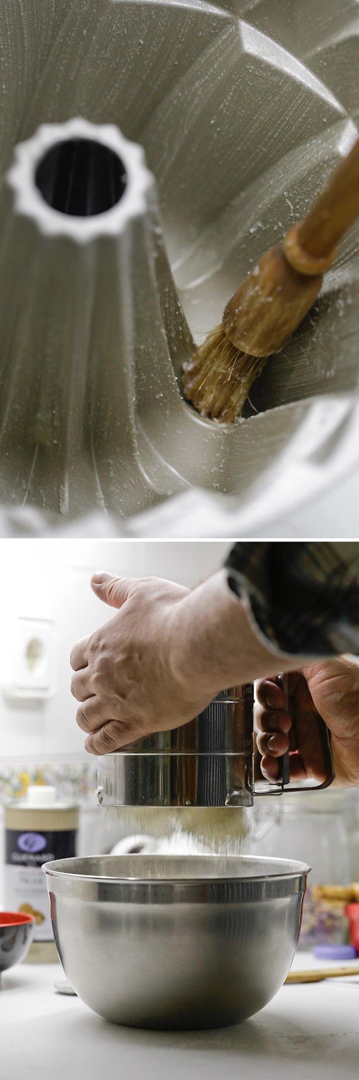 Bundt cake de aceite de nueces