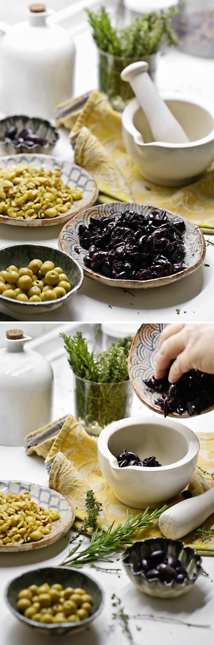 Receta de olivada catalana