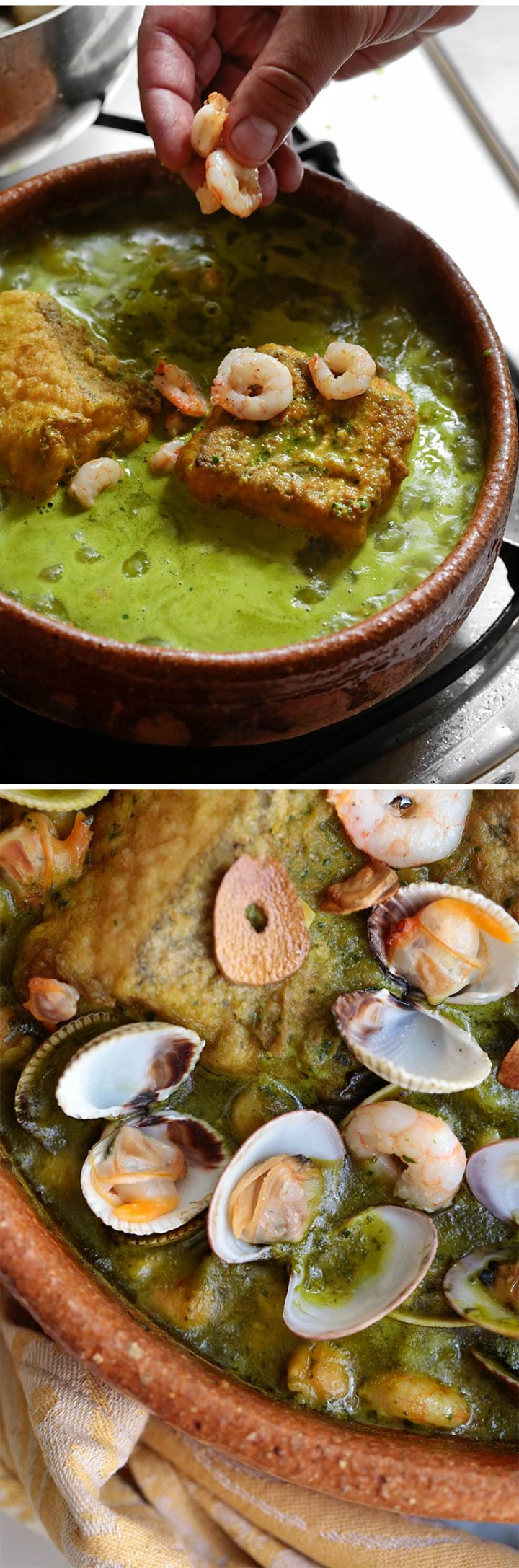 Receta cazuela de bacalao y garbanzos para Semana Santa