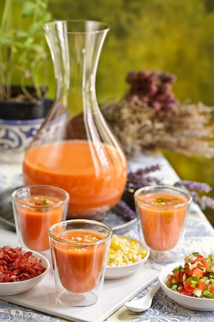 Receta de gazpacho andaluz
