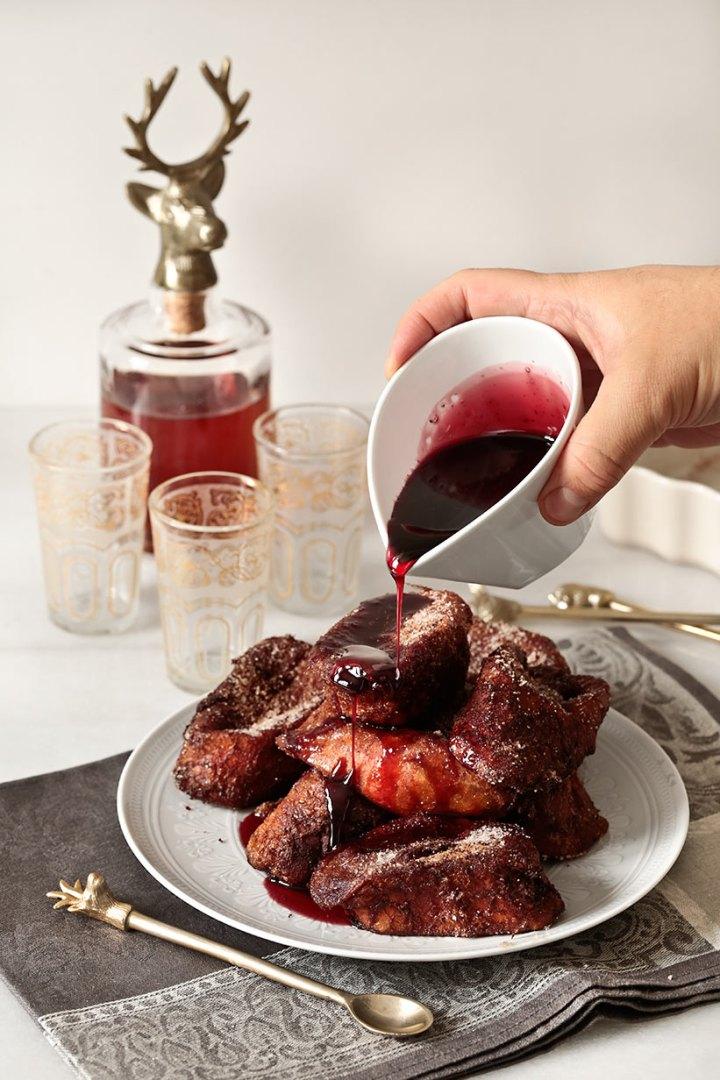 Receta torrijas de vino tinto